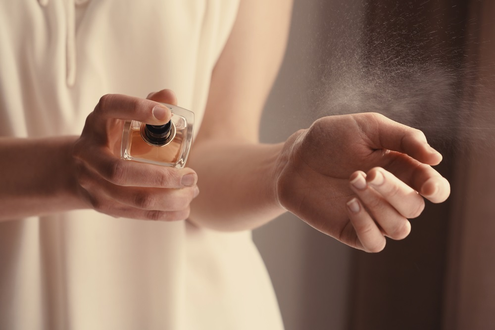 Parfum geven feestdagen