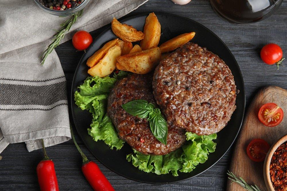 Vlees op maaltijd